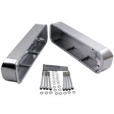 Stain Fabricated Aluminum For Ford Big Block Tall Valve Covers V8 429 460 BBF us
