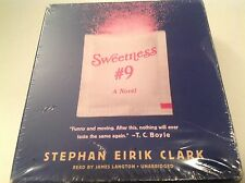 CD Audio Book Sweetness #9 A Novel by Stephan Eirik Clark Unabridged 2014 NEW -P