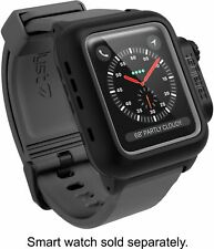 Catalyst Waterproof Apple Watch Case 42mm Series 2 & 3 with Premium - BLACK/GRAY
