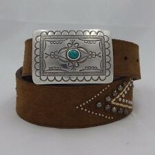 New Tony Lama RIO RANCHO Taper Leather Belt  Size 30  C51015