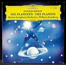 Gustav Holst Les Planètes The Planets Steinberg Boston LP NM, CV EX+