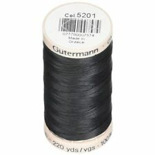 Gutermann Thread Cotton Quilting Black 40 Weight 220 Yard Spool