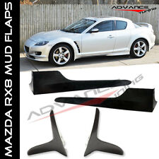 04-10 Mazda RX-8 OE Style Side Skirts Bodykits 2Pcs & Front Mud Flaps Unpainted