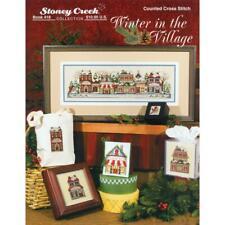 STONEY CREEK Cross Stitch Pattern Leaflet WINTER IN THE VILLAGE 418
