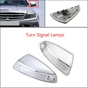 2x Car LED Turn Signal Light Fit For Mercedes Benz W204 W639 C250 C300 C350 C63