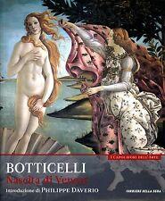 I capolavori dell'arte - BOTTICELLI. NASCITA DI VENERE. volume primo