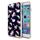 For Various Phones Design Hard Back Case Cover Skin - Cute Unicorn 49