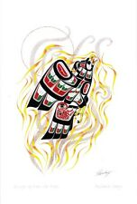 Rising Up From The Ashes - Phoenix Richard Shorty Art Card Tuchone Yukon Native