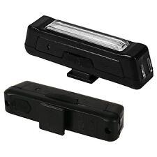 XCSOURCE 100LM COB LED USB Rechargeable Bicycle Bike Back Light