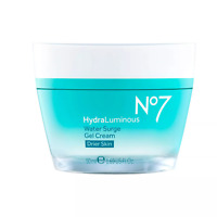 No7 HydraLuminous Water Surge Gel Cream - 1.69 fl oz NIB