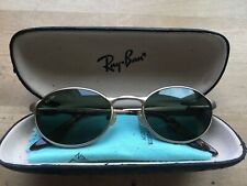 RAY BAN Vintage Oval Bausch & Lomb Gold Sonnenbrille W2840