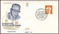Berlin 1971, 40pf Dr. G. Heinemann Definitive FDC First Day Cover #C34374