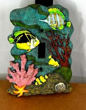 Tropical Fish 3D Single Light Switch Cover Plate