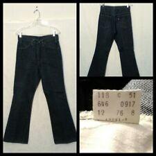 Levi's 646 Jeans Men's Size 31X30 Measured 31X30 Dark Wash Unwashed Inv#F4934