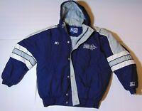 LARGE L Vintage 1990s Dallas Cowboys NFL Football Official Starter Jacket Coat