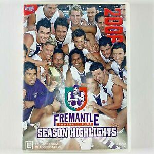 AFL FREMANTLE DOCKERS 2006 season highlights DVD