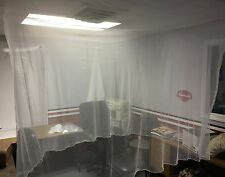 """MOSQUITO NETTING 71""""Lx40""""Wx60""""H, TREATED W/ DELTAMETHRIN.COMPARE: OTHERS ARE NOT"""