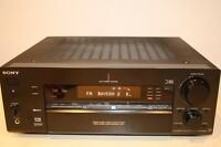 Sony STR-DB870 6.1A/V Receiver 100 Watt Phono tuner Optik dig. /coax dig. mit Fb