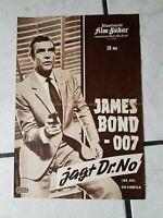 James Bond jagt Dr. No-FilmProgramm -50-60 er Jahre- ,org.-Jean P. Belmondo