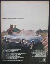 Buick Skylark for 1968 Original 1967 Vintage Print Ad