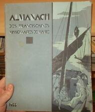 ALMANACH DES FRANCISCAINES MISSIONNAIRES DE MARIE 1933 PHOTOS ILLUSTRE JAPON