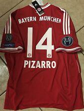 Rare Germany FC bayern Munich Pizarro Peru Shirt  soccer Trikot jersey