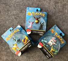 TOMY Pokemon Go eevee evolution family action figure toys  2inches 3Sets