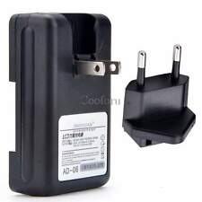 Universal Wall Charger for Mobile Phone Camera PDA Li-ion battery with USB Port