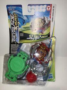 BEYBLADE Burst Turbo Slingshock TURBO ACHILLES A4 Starter Pack D66/TB11-S Hasbro