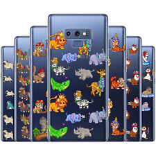Dessana Cute Animal Pattern Protective Cover Phone Cover for Samsung Galaxy