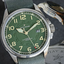 Sugess 43mm Anniversary People's Liberation Army Seagull 1963 Mens Watch GUNH002