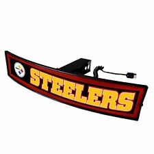 Pittsburgh Steelers Light Up Hitch Cover - LED Illuminated Trailer Hitch Cover