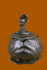 Handmade bronze sculpture Cast Hot Bouval Maurice By Nouveau Art FrenchDB