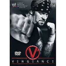 WWE - Vengeance (DVD, 2003) NEW Sealed Wrestling Region 4