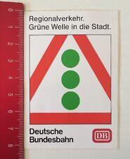 Aufkleber/Sticker: DB Deutsche Bundesbahn - Grüne Welle In Die Stadt (070616113)