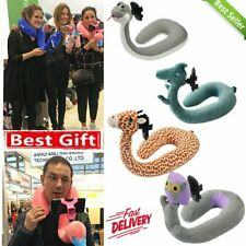 Memory Foam U Shaped Travel Pillow Neck Support Head Rest Airplane Cushion L1