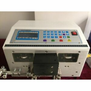 WOO Auto Computer Double Wire Peeling Stripping Machine Cable Cutting 0.1-2.5mm²