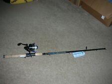 Zebco Genesis Spinning Combo Fishing rod anti-reverse Reel, long Aluminum Pole