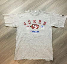 MENS VINTAGE 90'S 1990 STARTER SAN FRANCISCO 49ERS SHIRT LARGE  GRAY