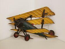 Military Sexton Co. U.S.A. # 1124 Airplane Art  Wall Sculpture Cast Aluminum TM