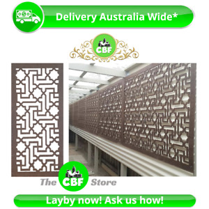 Istanbul - Australia Made Privacy Wooden Outdoor Garden Screens - 600x1200mm