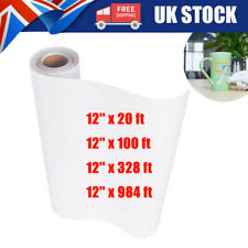 More details for clear vinyl application tape for car wall craft art decal transfer paper roll