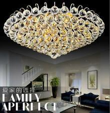 60Cm K9 Clear Crystal Chandeliers Living Dimming Room Lighting Ceiling Fixtures
