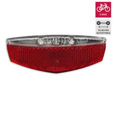 LED Flat High Power E-Bike 6v hasta 48v luz trasera gepäcktragerrücklicht 2 del CREE LED