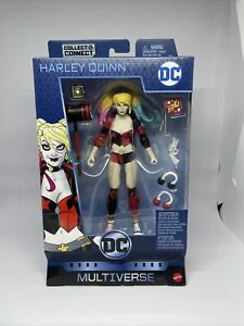 """DC Multiverse HARLEY QUINN 6"""" Figure w/LEX LUTHOR Collect And Connect Walmart Ex"""