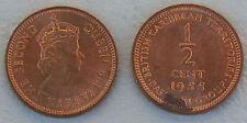Ostkaribische Staaten / East Caribbean States 1/2 Cent 1955 p1 vz-unz.