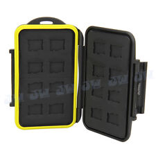 JJC Anti-shock Water-resistant Holder Storage Memory Card Case For 16 Micro SD