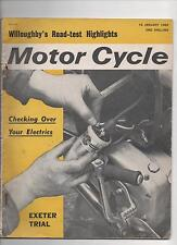 MOTOR CYCLE 16th January 1964 - Electrics Guide / Exeter Trial