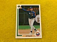 JEFF BAGWELL , HOUSTON ASTROS , 1991 UPPER DECK MLB BASEBALL ROOKIE CARD #755 RC