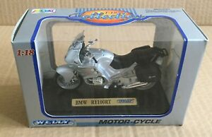 BMW R1100RT 1/18 MOTORCYCLE DIECAST, WELLY , MIB